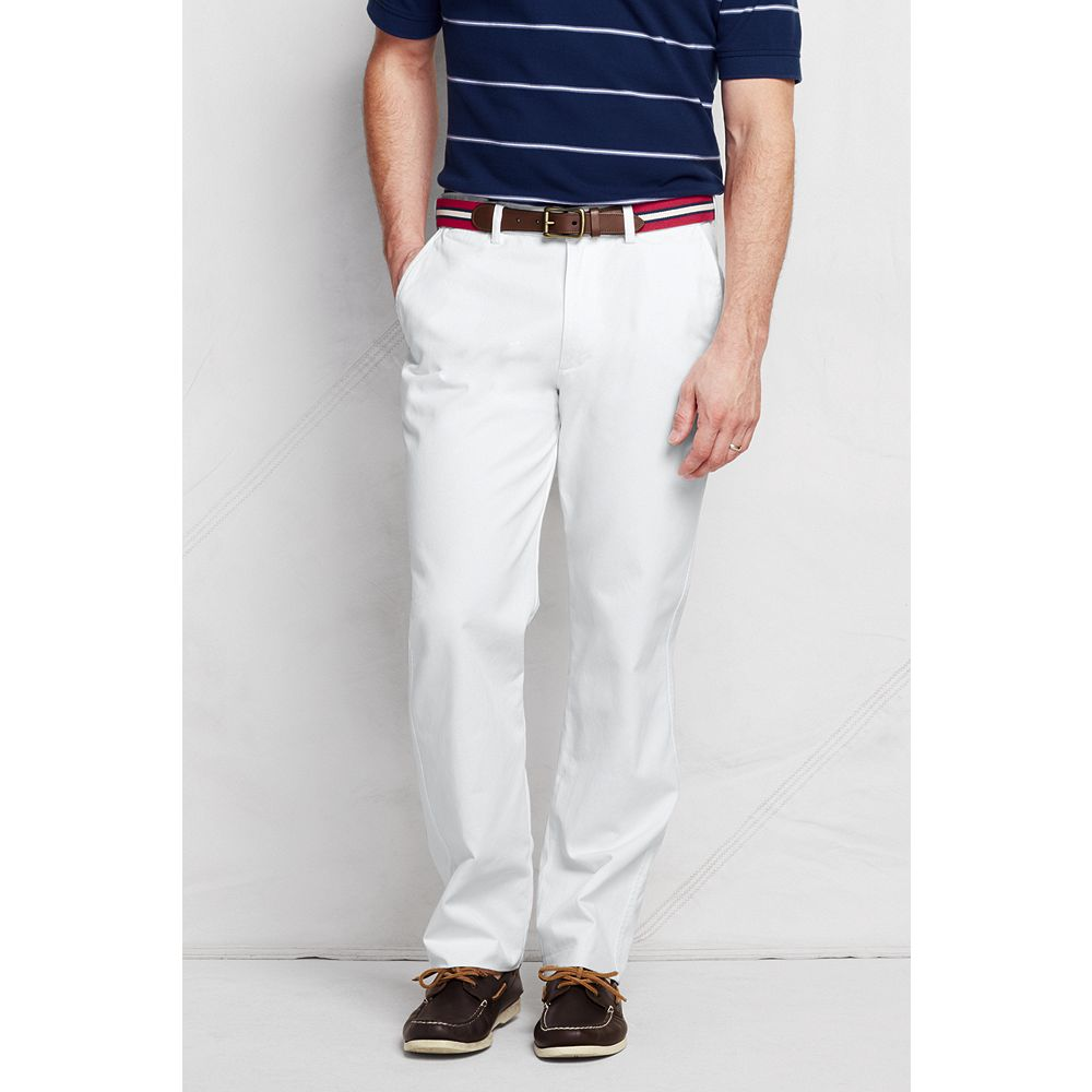 Lands' End Men's Lighthouse Comfort Waist Chino Pants at Sears.com