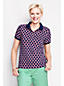 Women's Regular Short Sleeve Print Piqué Polo
