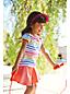 Little Girls' Plain Jersey Twirl Skort