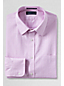 Men's Regular Tailored Fit Easy-iron Straight Collar Textured Shirt