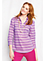 Women's Regular Striped Three-quarter Sleeve Cotton Lawn Shirt