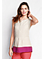 Women's Regular Colourblock Linen Shell