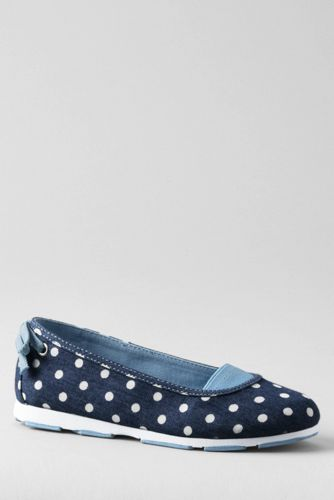 Girls' Alpargata Bow Slip-on Shoes