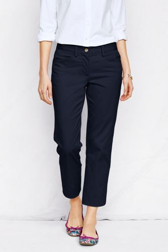 Le Pantacourt Chino Stretch Femme, Petite Taille