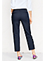 Women's Petite Plain Stretch Chino Crops