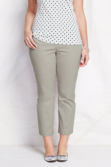 7/8-lange Stretch-Chinos für Damen