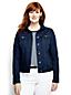 Jeansjacke aus Indigo-Denim für Damen in Plusgröße