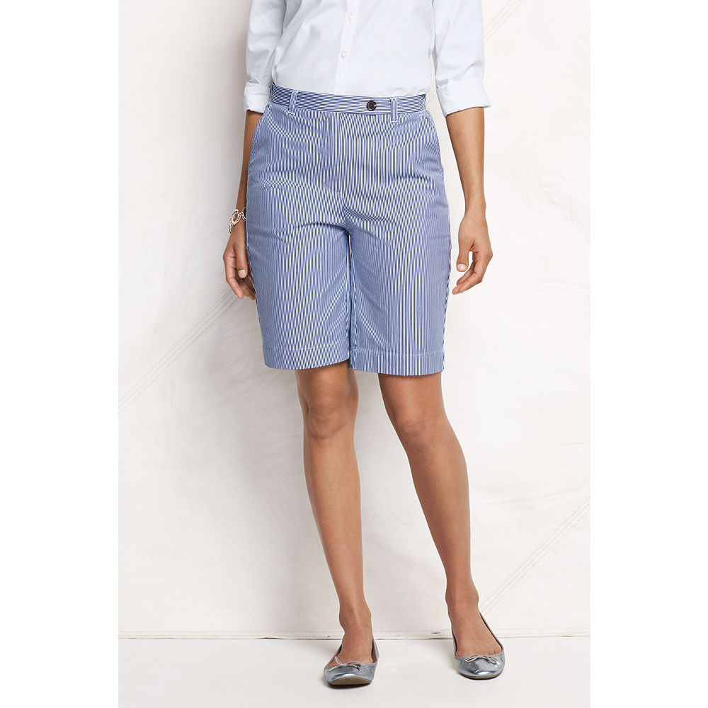Lands' End Women's Fit 3 Pincord Bermuda Shorts at Sears.com