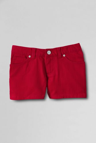Little Girls' Coloured Denim Shorts