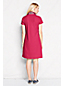 Women's Regular Madras Trim Polo Dress