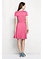 Women's Petite Ruched Wrap Jersey Dress