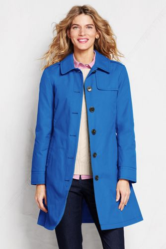 Women's Regular Harbor Trench Coat - Chesapeake Blue