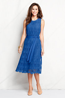 Women's Lace Keyhole Dress