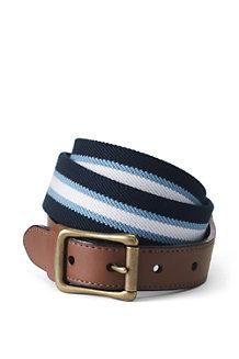 Men's Club Stripe Elastic Belt