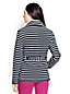 Women's Regular Polartec® Aircore® 200 Striped Pea Coat