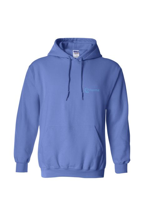 Men's Regular Gildan Screen Print Hooded Sweatshirt