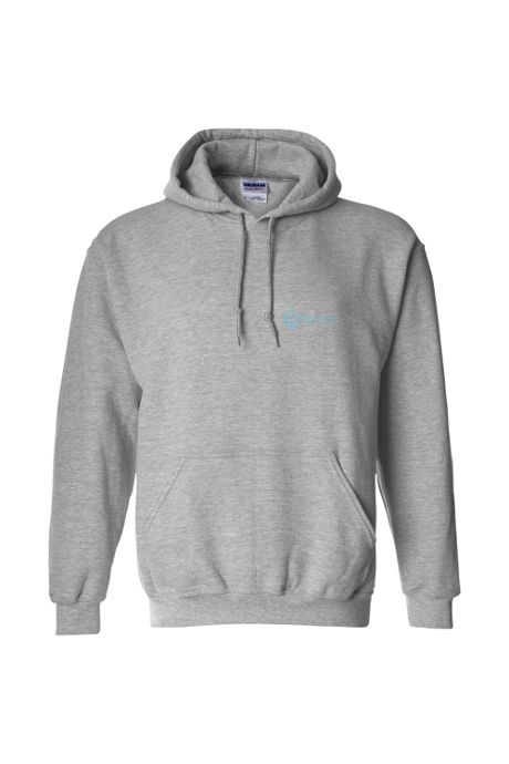 Men's Big Gildan Screen Print Hoodie Sweatshirt