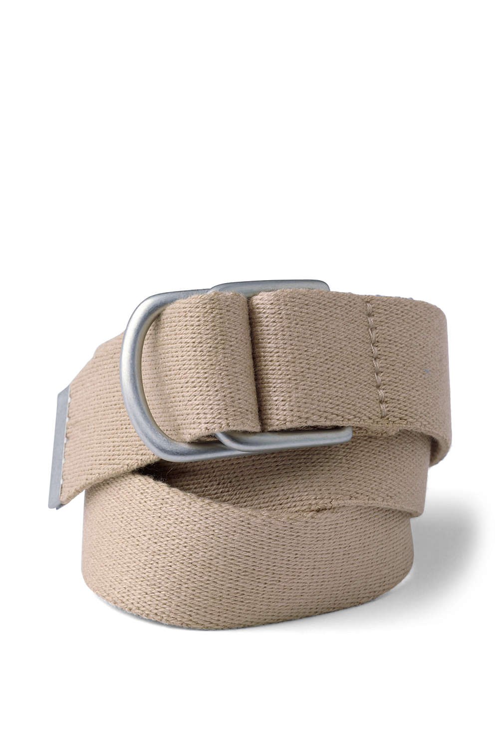Boys Web D-Ring Belt from Lands  End a8e6481f8cd