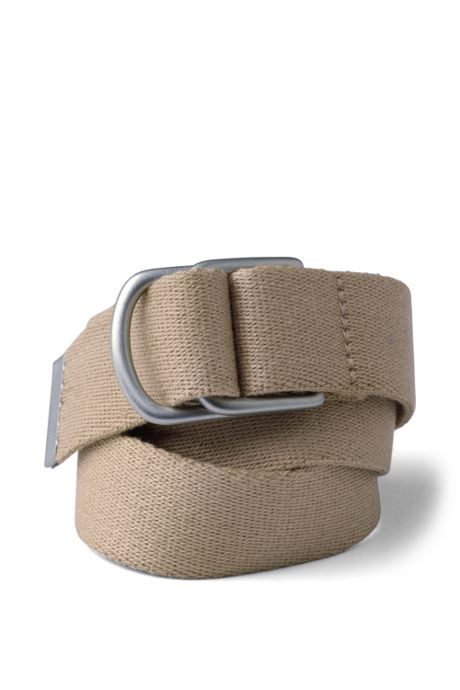 Boys Web D-Ring Belt