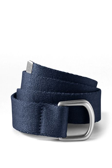 School Uniform Boys Web D-Ring Belt