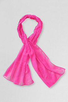 Girls' Rhinestone Scarf