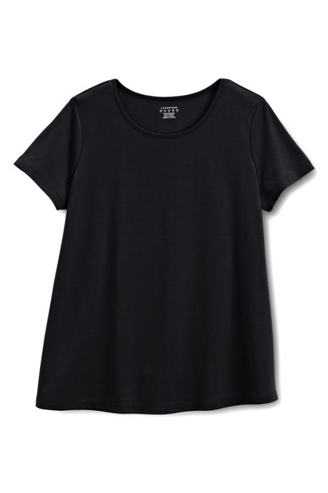 Women's Maternity Short Sleeve Jewelneck Tee