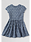 Girls' Ruffle Front Pocket Dress