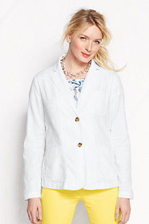 Women's Casual Linen/Cotton Jacket
