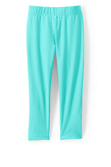 Girls' Cropped Jersey Leggings