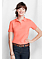 Women's Petite Slim Fit Garment Dyed Pique Polo