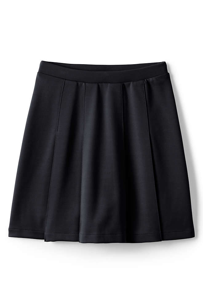School Uniform Girls Ponte Pleat Skirt, Front