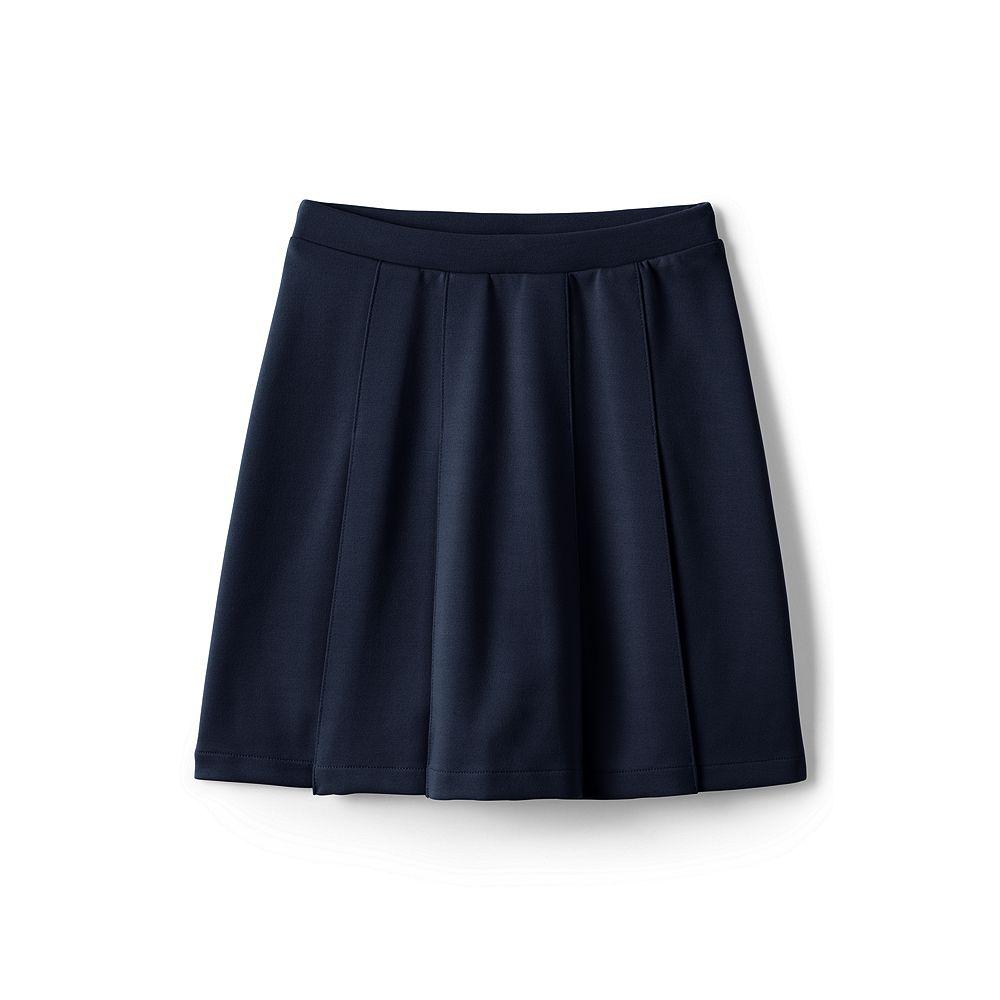 Lands' End School Uniform Women's Pleated Ponte Skirt at Sears.com
