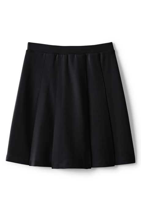 Girls Ponte Pleat Skirt