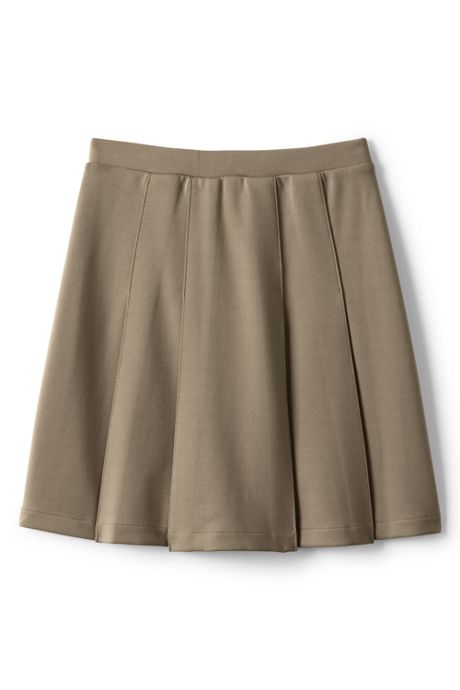 School Uniform Little Girls Ponte Pleat Skirt