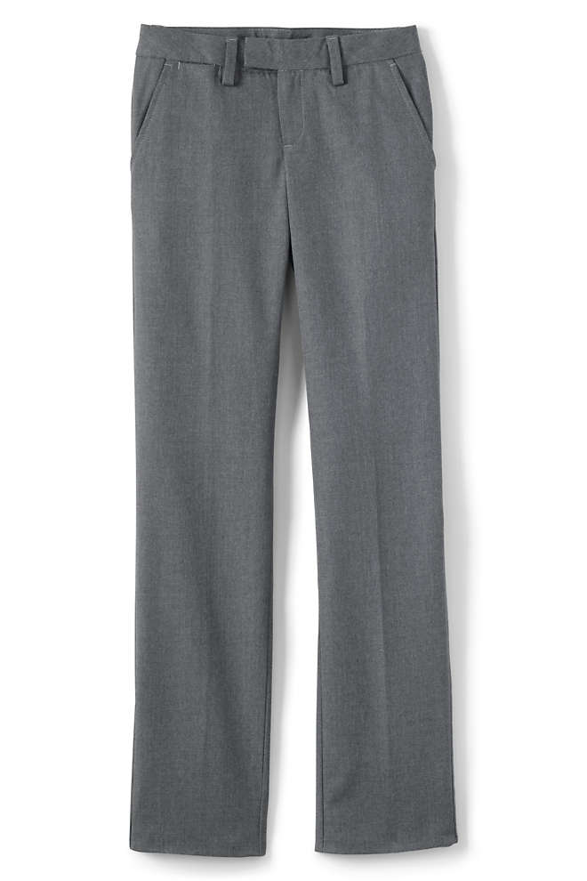 School Uniform Girls Dress Pants, Front