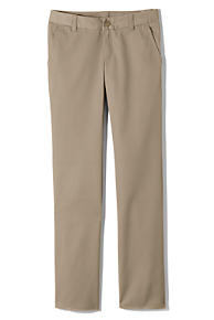 Girls' School Uniform Chino Pants