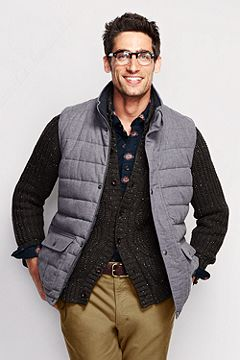 Flannel Insulated Vest 443049