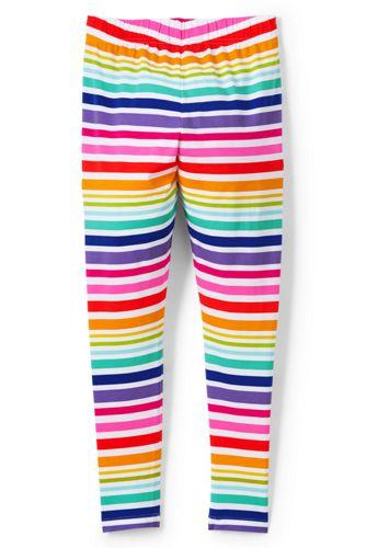 Little Girls' Patterned Ankle-length Jersey Leggings