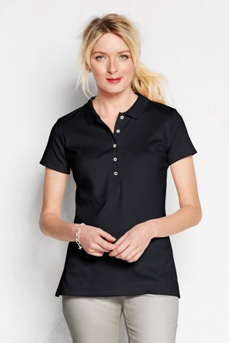 Women's Regular Slim Fit Pima Polo