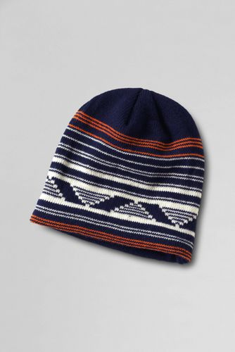 Boys' Knit Pattern Hat