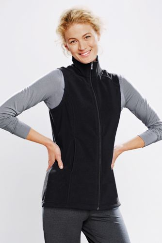 Women's Regular Polartec® Aircore® 100 Plain Gilet