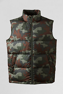 Men's Camouflage Down Gilet