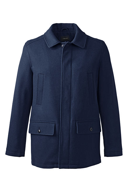 Lands End Mens University Coat