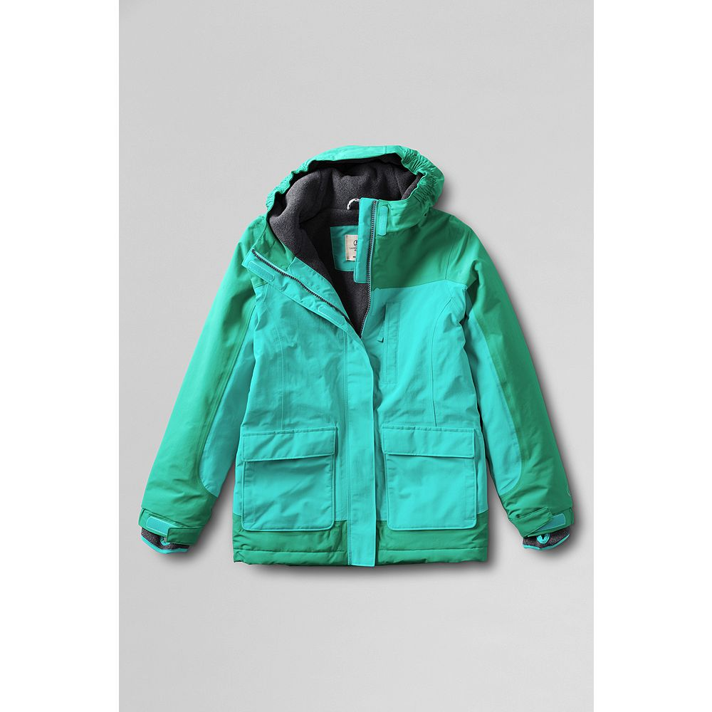 Lands' End Little Girls' Waterproof Squall Parka at Sears.com