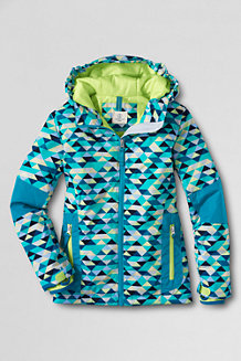 Girls' Patterned Stormer™ Jacket