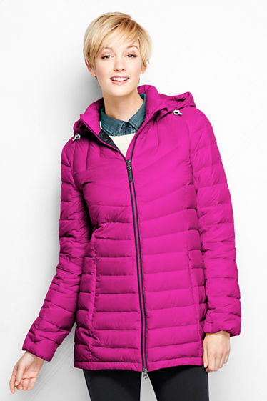 Women's Lightweight Down Parka from Lands' End