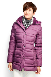 Women's Heathered Down Parka
