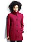 Women's Regular Boiled Wool Blend Hooded Parka