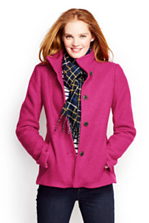Women S Red Jackets Parkas Amp Coats From Lands End