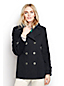 Women's Regular Wool Cashmere Blend Pea Coat